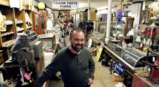 Frank Fritz in his store Frank Fritz Finds