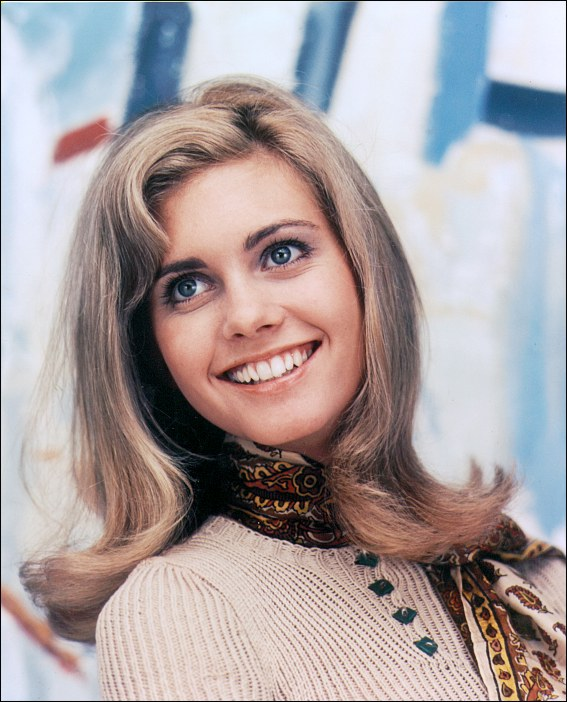Actress Olivia Newton John in the fictional musical Toomorrow. Olivia Newton John also recorded her two singles You're My Baby Now and I Could Never Live Without Your Love at that time