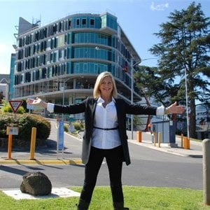 Singer Olivia Newton John at her Olivia Newton John Cancer and Wellness Center in Melbourne. Olivia Newton John has a stage IV cancer and is currently battling it for the third time