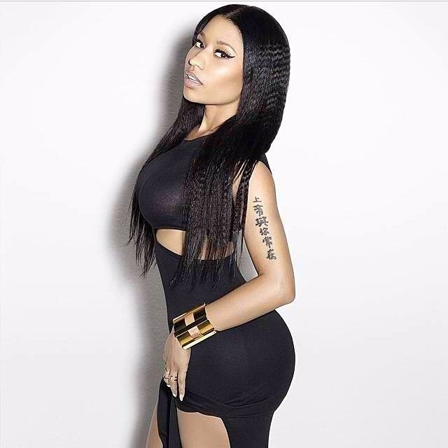 Nicki Minaj's butts looks large in her recent picture
