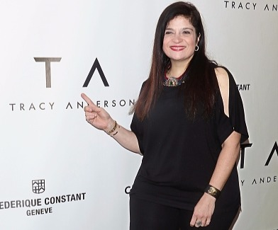 Chef Alex Guarnaschelli at Tracy Anderson Flagship Studio opening in New York City