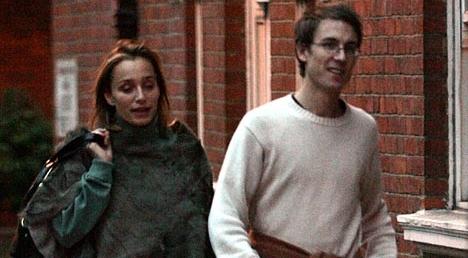 Tobias Menzies with Kristin Scott Thomas