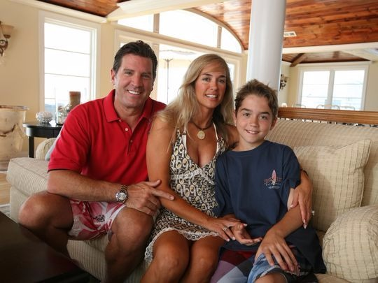 Eric Bolling small and happy family!