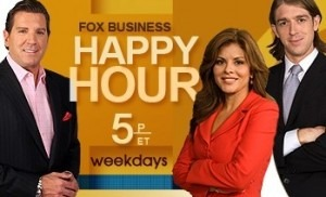 The picture is the cover photo of the Fox News' show Happy Hour.