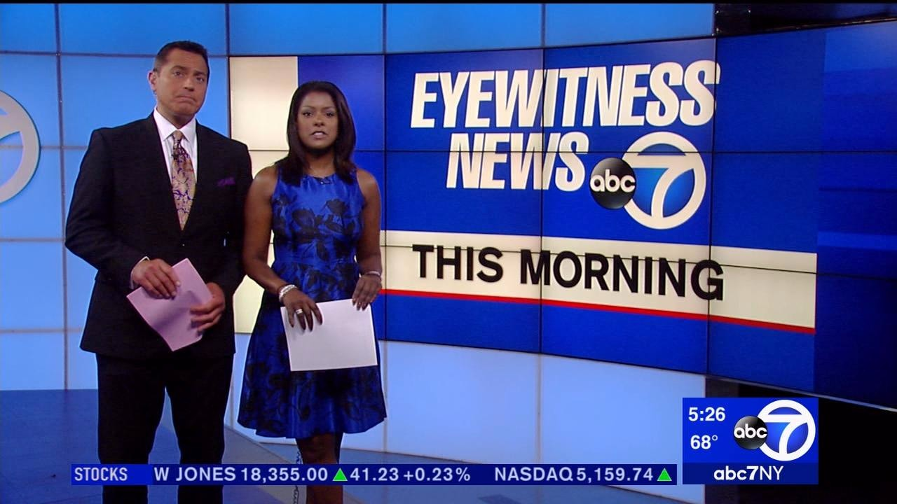 Lori Stokes co-hosting Eyewitness News alongside Ken Rosato