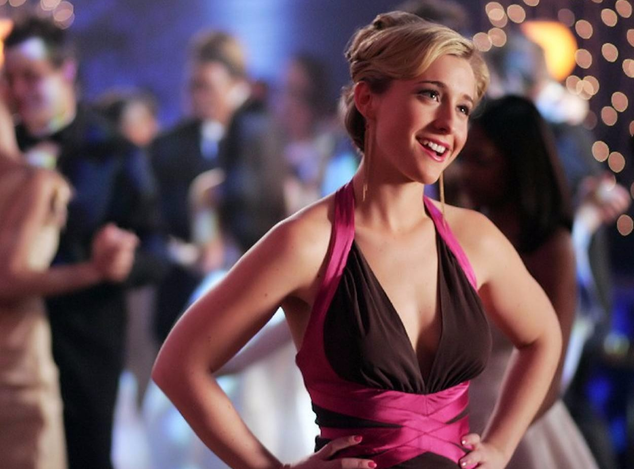 Actress Allison Mack as Chloe Sullivan in Smallville. Her character was the most admired one in the series.