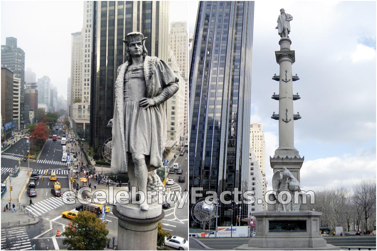 Mayor de Blasio deciding on taking down the Christopher Columbus statue in Manhattan