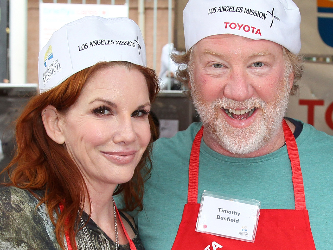 Melissa Gilbert with her husband Timothy Busfield