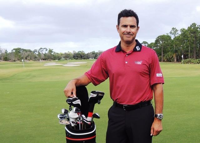 Butch Harmon's elder son Claude Harmon III pictured in the golf course