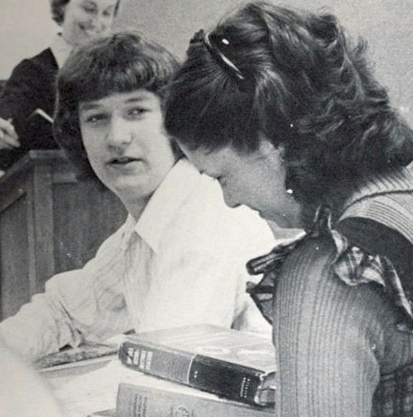 Tim Cook during his High School days in Robertsdale High School