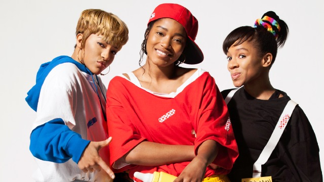 Lil Mama, Keke Palmer and Drew Sidora starred as a hip-hop trio in the biopic film CrazySexyCool: The TLC Story