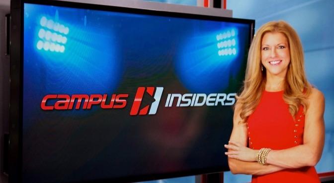 Campus Insider's host Bonnie Bernstein