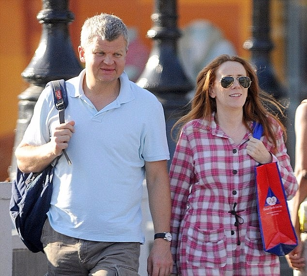 Adrian Chiles and Catherine went public with their courtship in 2012