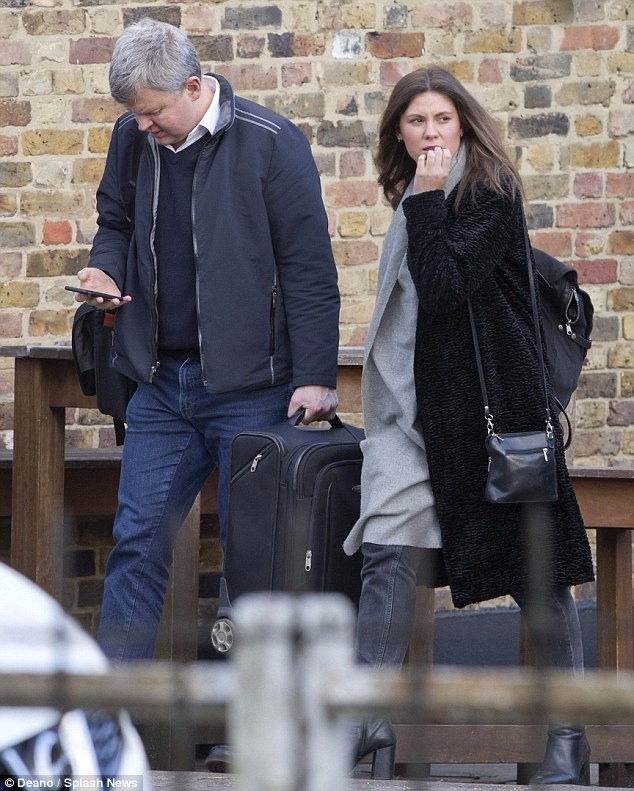 Adrian Chiles was spotted with a mystery woman in 2016