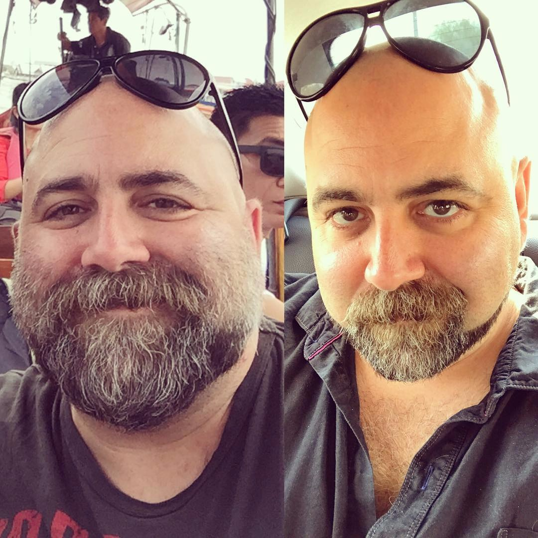 Duff Goldman shared his before and after weight loss photos on Instagram