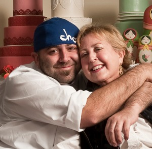 Duff Goldman with his mother Jacqueline Winch