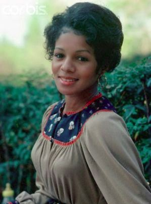 Rebbie Jackson at her young age. She is the eldest daughter out of ten children of her parents.