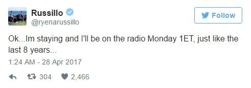 Ryen Russillo ESPN tweet