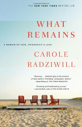 A cover of Carole Radziwill's book about her career, relatioships and gruesome cancer battle of her husband, Anthony Radziwill