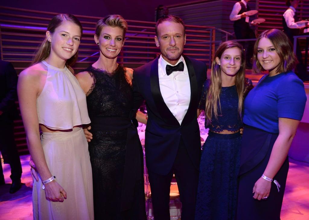 Tim and Faith family