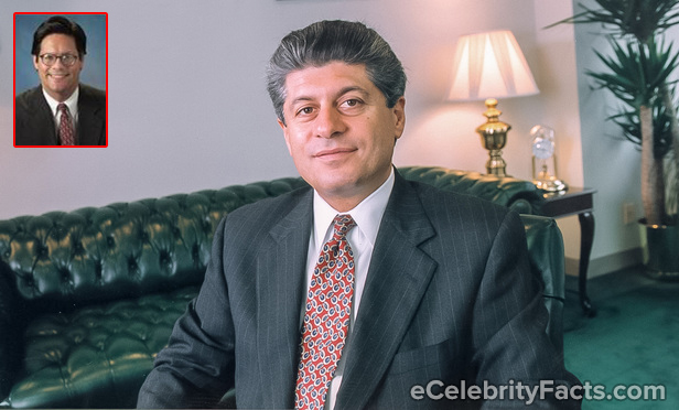 A collage of Andrew Napolitano and James C. Sheil's photos. Andrew Napolitano was rumored to be gay and that he was dating James C. Sheil.