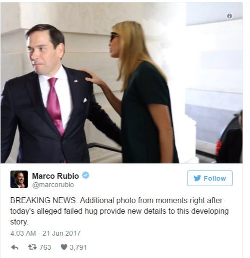 Marco Rubio Ivanka Trump twitter photo