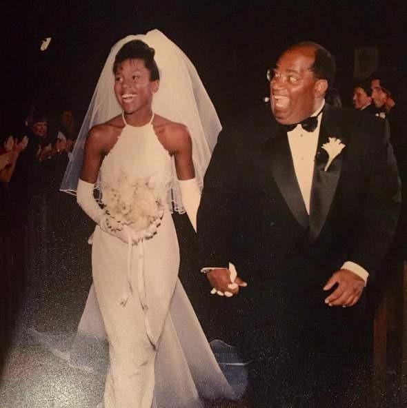Al Roker and Deborah Roberts' wedding picture
