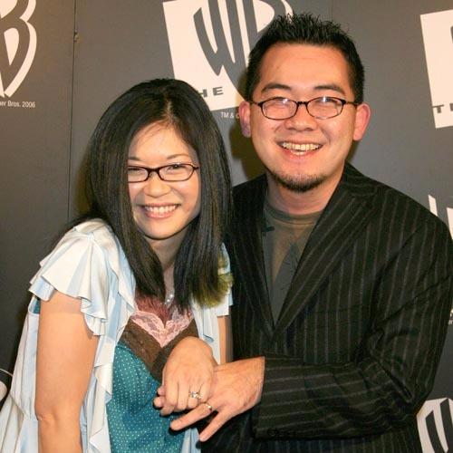 Keiko Agena and her husband Shin Kawasaki in an interview by myfanbase.de