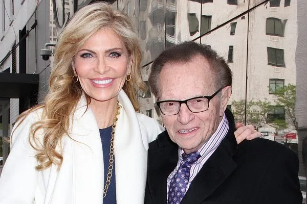 Larry King and Shawn King. Larry King filed for divorce from his seventh wife, Shawn King on August 20. The couple where together for 22 years. They got married in 1997.