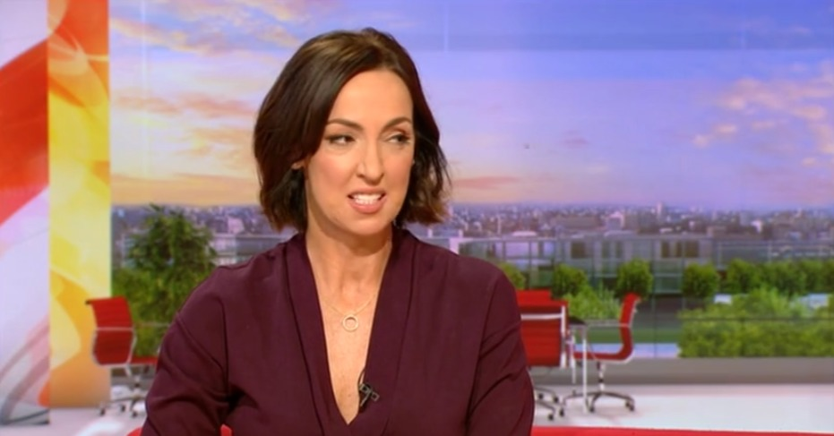 Sally Nugent back on BBC Breakfast couch