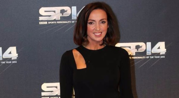 Sally Nugent BBC Sports Host