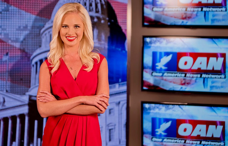 Tomi Lahren hosted a show on OAN called On Point with Tomi