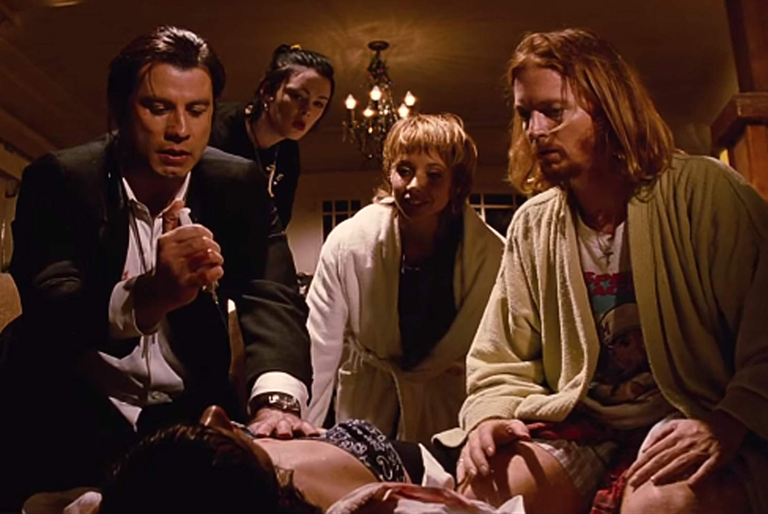 Scene from the movie, Pulp Fiction