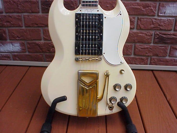 Mary Ford's 1961 Gibson SG Les Paul Guitar.