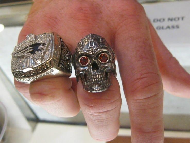 Super Bowl XXXVI Ring.