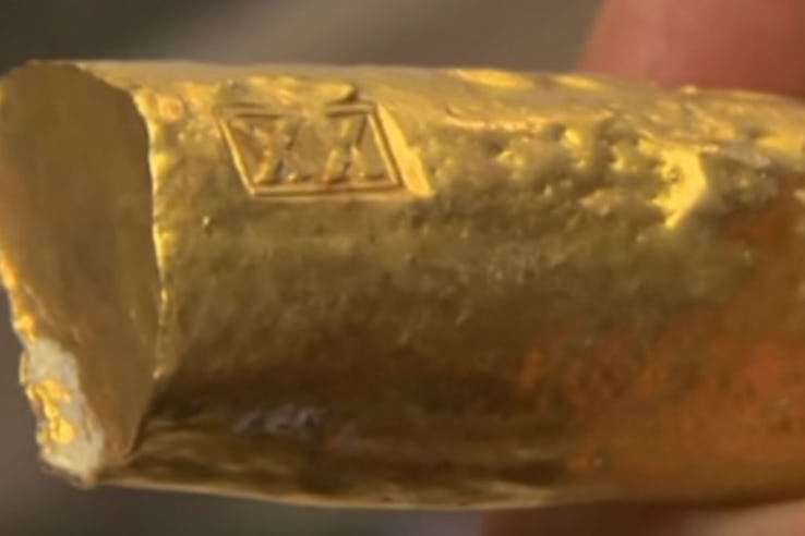 Spanish Gold Bar from the 1500s.