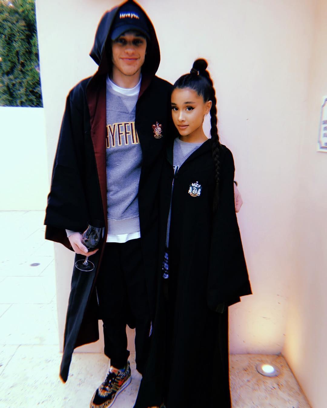 Ariana Grande and comedian Pete Davidson