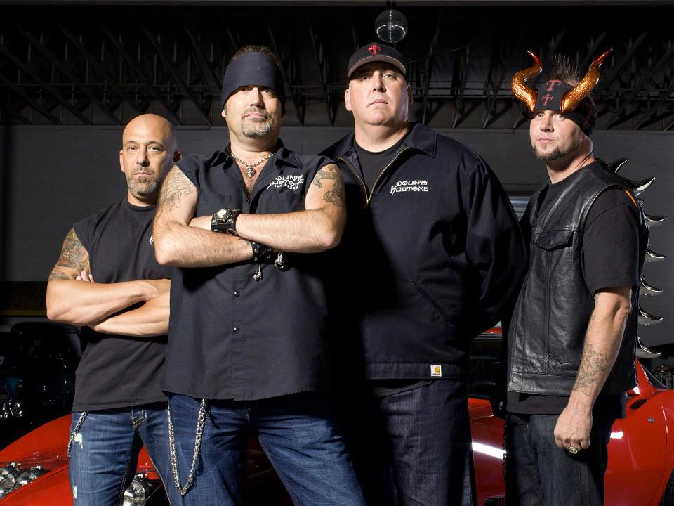 Counting Cars stars Danny Koker and the team