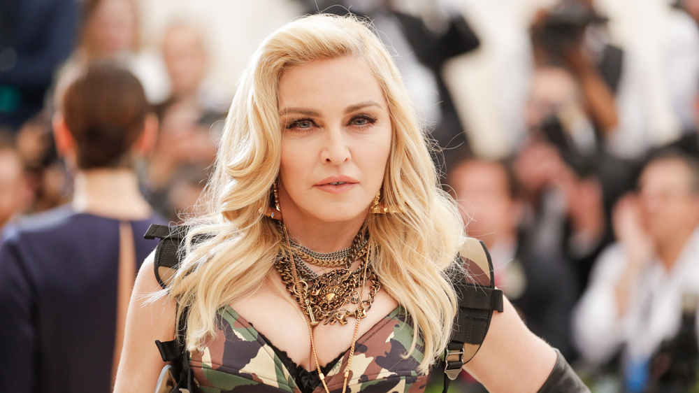Madonna Louise Ciccone attends Madonna Met Gala 2017 in the army-dress themed attire