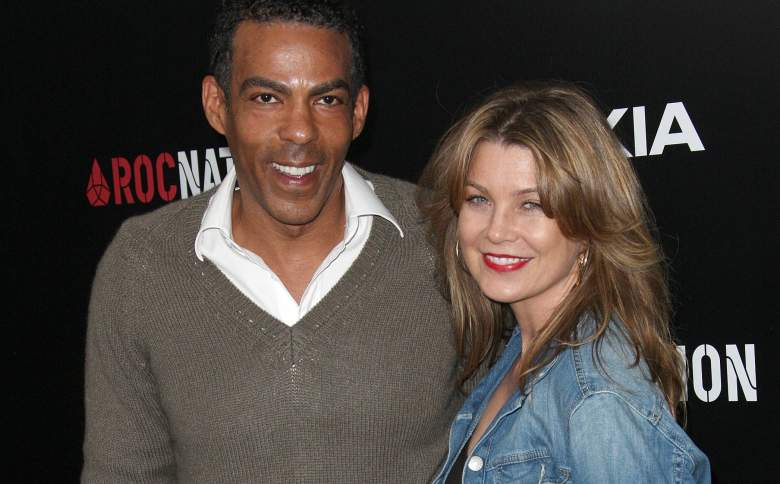 Ellen Pompeo sharing a smile with her husband, Chris  Ivery