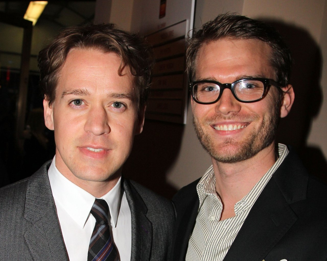 T.R. Knight with his now husband, Patrick Leahy