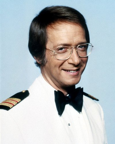 Bernie Kopell as Doctor Adam Bricker in The Love Boat. Bernie was present in all 9 seasons of the show.