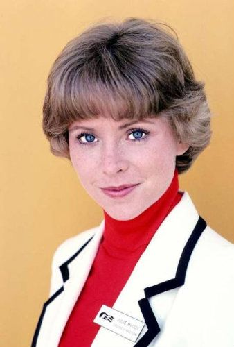 Lauren Tewes as Julie McCoy in The Love Boat. She was replaced by Pat Klous in 1984 due to her struggle with cocaine addiction.