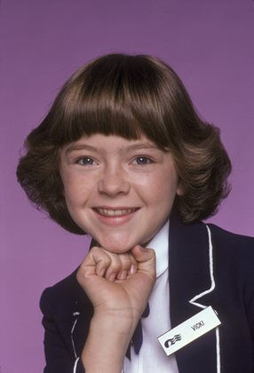 Jill Whelan as Vicki Stubing in The Love Boat. Jill was just 11 when she joined the show.