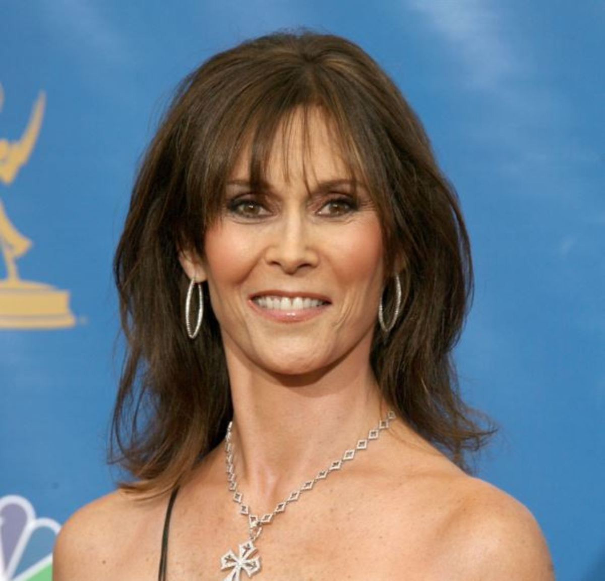 Kate Jackson in 58th Primetime Emmy Awards. Kate Jackson played the role of Sabrina Duncan in Charlie's Angels. She was diagnosed with breast cancer in 1987 and was later announced cancer free.