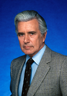 John Forsythe as Charles Townsend in Charlie's Angels. During the last season of the show, he starred in the prime time soap opera, Dynasty