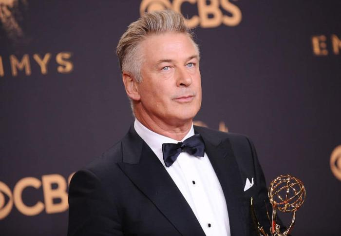 Actor Alec Baldwin during the 27th Emmy Awards