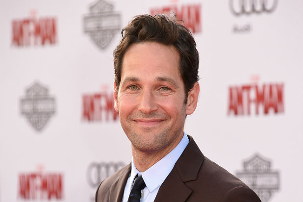 Actor Paul Rudd in the premiere of Ant-Man