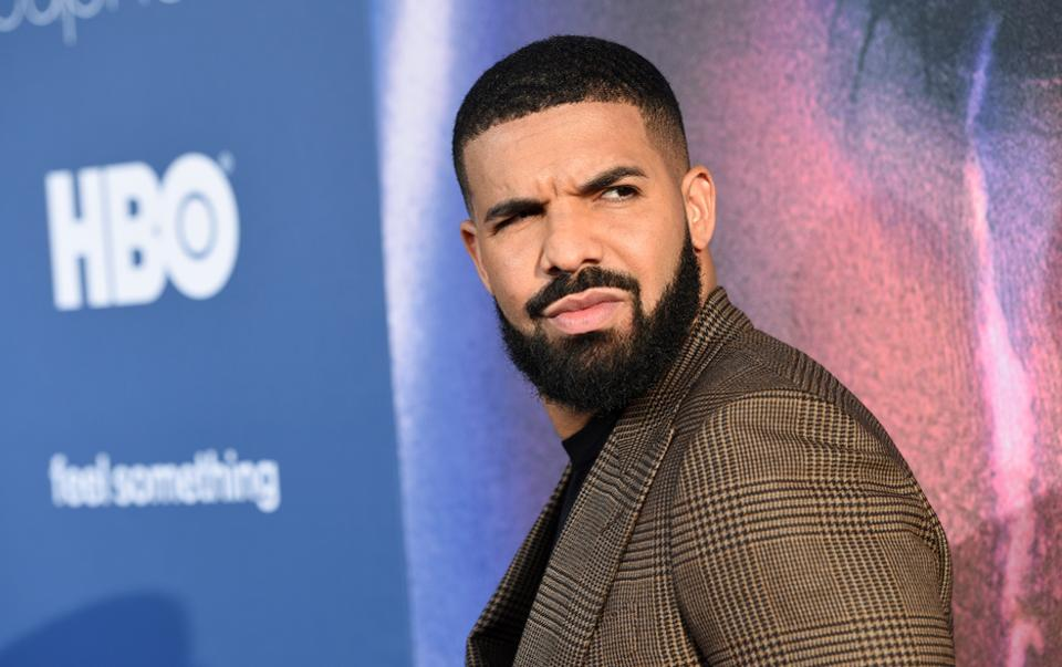 Canadian artist Drake at a premier.Drake has an estimated net worth of $150 million.