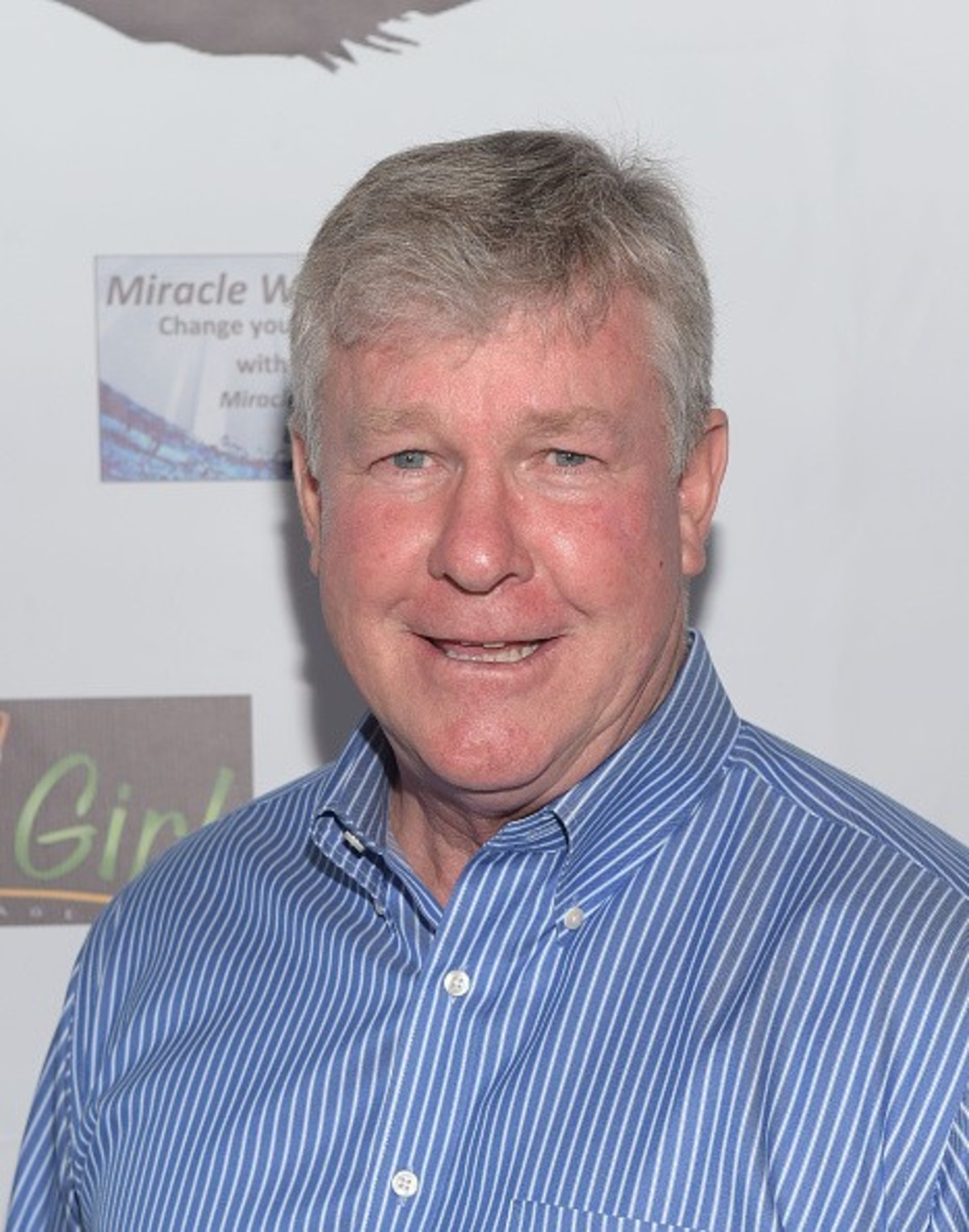 Actor Larry Wilcox at the Miracle Wash. Larry Wilcox has been married three times and is currently living with his third wife Marlene Harmon